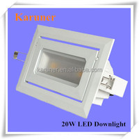 2015 Hot Sale IP65 Surface Mounted Square LED 20W Downlight