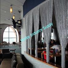 Aluminium Chain Curtain Room Divider For Restaurant