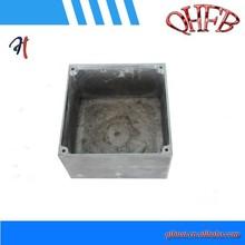 hot sale aluminum die casting switch box / square box