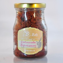 350g. per Bottle Ruby Red Hot Curry Paste Flavour mix Herb For Health Lover by EARTHGREENSMILES CO., LTD.