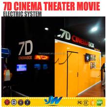Hot!!!2015 latest technology !!! china electric 5d 7d cinema simulator for sale