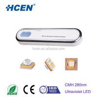 SMD 280nm UV LED Emitter 0.12W 20mA Inorganic Hermetic Package