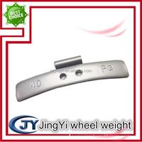 Fe spraying clip-on wheel balance weight/steel clips wheel weight