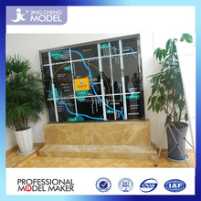 miniature high quality architectural models of house apartment building