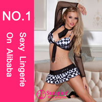 2015 Hot sales wholesale Sunspice sexy lingerie photos sexy racing costume japan sexy girls school