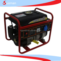 Portable Gasoline generator set Rated power 0.8kw Max.power 1.25kw