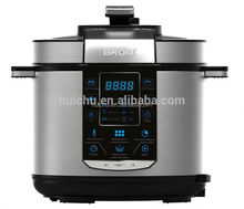 China manufacturer multifunction electric pressure cooker golden champagne