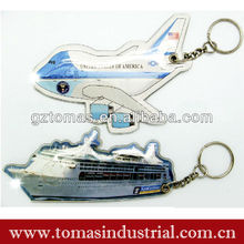 customized remove before flight keychain china