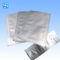custom printed aluminum foil flat pouch