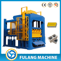 hollow block machine for sale house plans new products QTF4-15C automatic hollow block making machine in Philippines