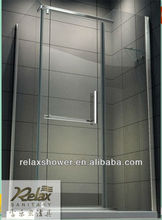 2015 fine bathroom shower enclosure with tempered glass