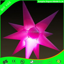 2014 Most popular party led inflatable star for decoration