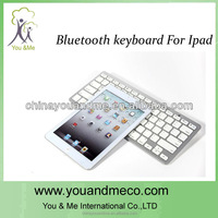 high quality wireless bluetooth keyboard with leather case for ipad