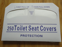 1/2 fold flushable paper toilet seat cover disposable toilet seat covers