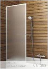 4-8mm Bathtub bearing tempered glass shower screens(XQL1207C)