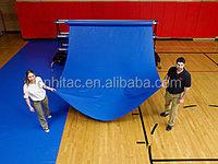 Long Time Durability Blue 18oz PVC Vinyl Gym Floor Cover Sheet