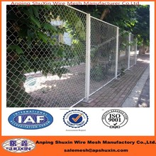 commercial /residential square post chain link fence/chain link fabric,framework