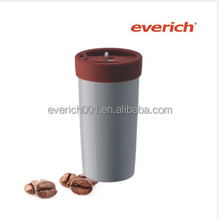 travel ceramic cup with a new design cap hot products in china