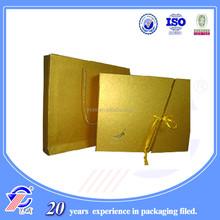 2015 hot sale clothing paper bag popular krfat paper bag