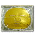 la belleza 2014 desechables desechables de cristal de oro 24k colágeno máscara de la cara mejor cuidado de la piel productos