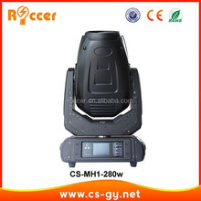 New design Hot sale Brightness Updated 12R 280W Beam Moving Head