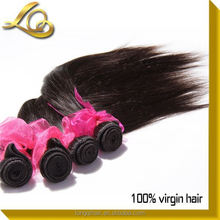 Made In China Durable Hair Extension&Feather Extensions For Hair&Straight Brazilian Virgin Hair 4 Pcs Lot