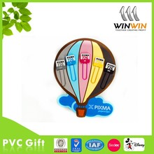 hot-air ballooning PVC fridge magnet