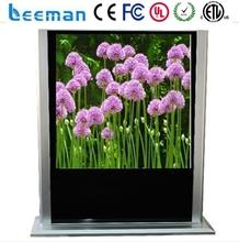 interactive lcd advertising display Leeman P8 SMD lcd free stand advertising monitor