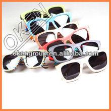 2014 Eco-friendly Handmade hinge wood sunglasses