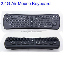 Factory Wholesale 2.4g Mini Fly Air Gyro Mouse Wireless Keyboard, 2.4G Mini Keyboard for Android TV Box/Dongle, Smart TV