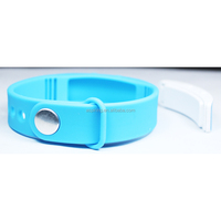 Silicon 3D Pedometer USB Smart Wristband Watch 3d pedometer watch