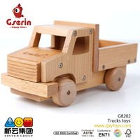 Wooden Disassembly and assembly Trucks toys