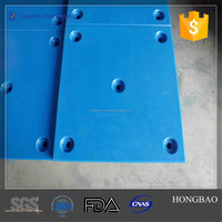 custom plastic sheet/ hdpe properties/ PE outrigger pads