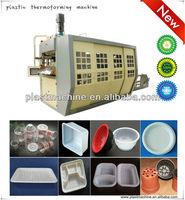 High precision full servo motor control plastic flower pot machine