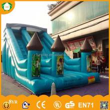 HI Big discount! 0.55mm PVC top rated inflatable water slides,water slides for adults,inflatable water slide