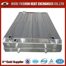 Hot selling OEM custom made aluminum plate&bar heavy equipment radiators