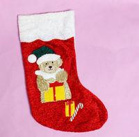 Christmas hanging plush socks