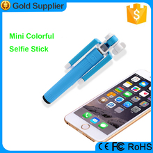 2015 product pocket selfie stick, colorful legoo selfie stick for huawei ascend p6