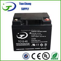 12V 45Ah Sealed Lead Acid SLA VRLA MF Gel Solar PV UPS Battery