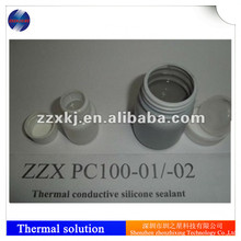 RTV two-component thermal silicone pouring glue