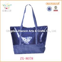 Hot Fashion High Quality Lady Bling Glitter Sequins Bucket Shoulder Bag Handbag