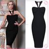 Party Dresses for Teenage Girls Sexy Night Dress Black
