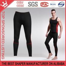 The men forced abdomen slimming bamboo carbon fiber nine pants Hot Slimming Shapers ShortsThermo Pants K163