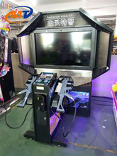 55LCD Operation Ghost coin operated shooting arcade game machine with video games