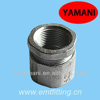 """Zinc Plated Malleable Iron 1"""" Three Piece Coupling Used To Connect Threaded Rigid Or IMC Conduits"""