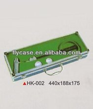 Aluminum black carrying top quality handy acrylic golf ball display case at an affordable price