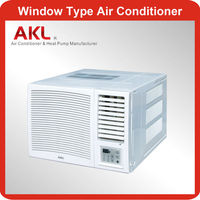 9000 btu 0.75 ton window air conditioner with TOSHIBA compressor