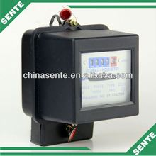DD28 Type single phase electronic AC active watt-hour plastic electric meter cover