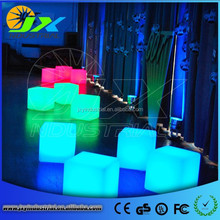 Wholesale Price Waterproof Plastic RGB PE Led Cube/led light cube/led cube table