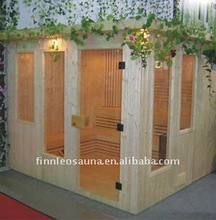 China low price dry sauna and steam combined room